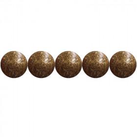 """100 Clous tapissiers \\""""Ivry\\"""" Vieilli Bronze Doré 10.5 mm - Perle Fer - Clous tapissier"""
