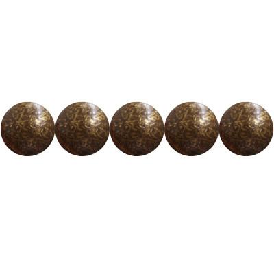 """200 Clous tapissiers \\""""Ivry\\"""" Vieilli Bronze Doré 10.5 mm - Perle Laiton - Clous tapissier"""