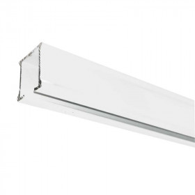 Rail rideau CS blanc sans accessoires - 1m91 à 2m90 - Habillage de la fenêtre