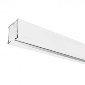 Rail rideau CS blanc sans accessoires - 1m91 à 2m95 - Habillage de la fenêtre