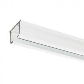 Rail rideau KS blanc sans accessoires - 30 cm à 200 cm - Habillage de la fenêtre