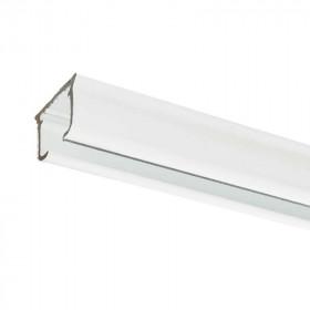 Rail rideau KS blanc sans accessoires - 50 cm à 1m90 - Habillage de la fenêtre