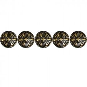 100 Clous tapissier Bronze Renaissance 19 mm - Clous tapissier