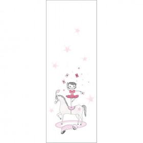 CASADECO - Alice et Paul -Panoramique cirque danseuse - Rose