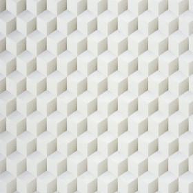 CASADECO - Chrome Cube 3D - Blanc