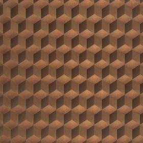 CASADECO - Chrome Cube 3D - Cuivre