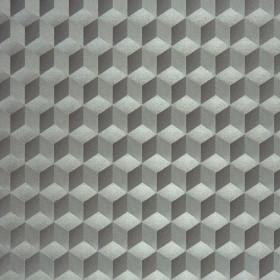 CASADECO - Chrome Cube 3D - Argent