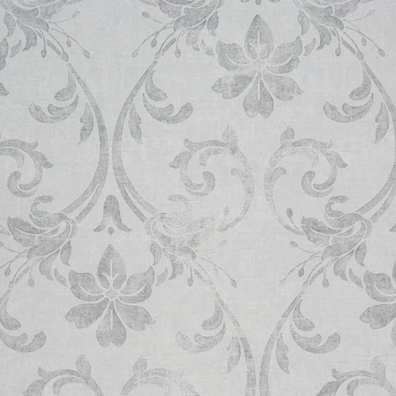 Papier Peint Casadeco Majestic Art Nouveau Blanc