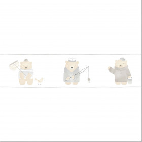 CASADECO - My Little World - Frise Ours Beige
