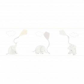 CASADECO - My Little World - Frise Éléphant Beige