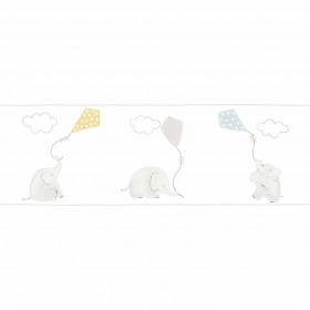 CASADECO - My Little World - Frise Éléphant Bleu