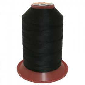 Bobine de fil Serafil fin 120/2 - 5000m - 4000 Noir - Mercerie