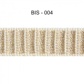 Galon reps 12 mm - Bis 004 - Passementerie