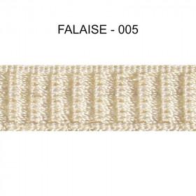Galon reps 12 mm - Falaise 005 - Passementerie
