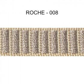 Galon reps 12 mm - Roche 008 - Passementerie