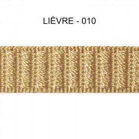 Galon reps 12 mm - Lièvre 010 - Passementerie