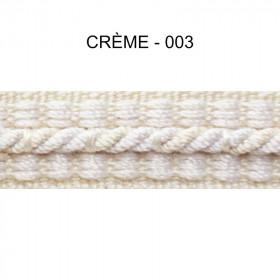 Galon cordonnet 12 mm Crème 003 - Passementerie
