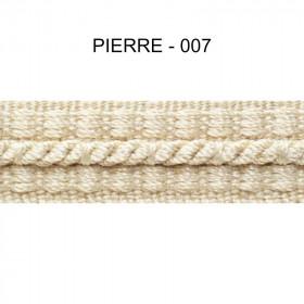 Galon cordonnet 12 mm Pierre 007 - Passementerie