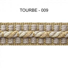 Galon cordonnet 12 mm Tourbe 009 - Passementerie