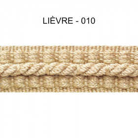 Galon cordonnet 12 mm Lièvre 010 - Passementerie