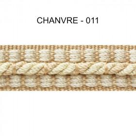 Galon cordonnet 12 mm Chanvre 011 - Passementerie
