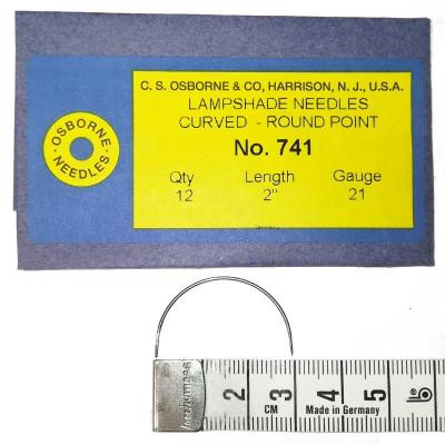Carrelets courbes fins 50mm Par 12 - Chas intérieur