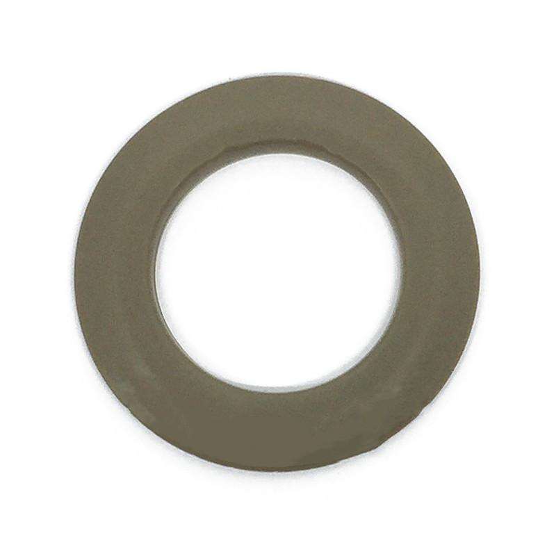illets rideaux clipser 44 mm taupe glossy anneaux de rideaux. Black Bedroom Furniture Sets. Home Design Ideas