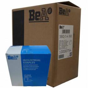 Carton 8 Boites Agrafes type 380 BEA 14mm - 15 000 par boite - Fournitures tapissier