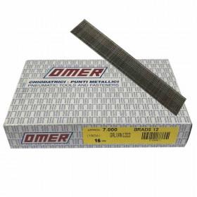 Pointes finette OMER Brads 12 - 16mm - Par 7000 - Fournitures tapissier