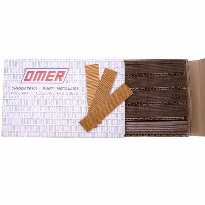 Pointes finette 15mm OMER 0.6, pour pistolet PR18 - Fournitures tapissier