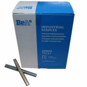 Agrafes type 71 14mm pour agrafeuse pneumatique BEA - Fournitures tapissier