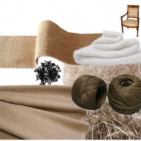 Kit Fauteuil Empire traditionnel sans ressorts - Fournitures tapissier