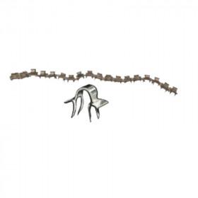 Agrafe Osborne N°7200 pour Pince Osborne 720 par 1000 - Fournitures tapissier