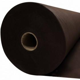 Jaconas non tissé polypropylène marron 70 g/m², le rouleau 250m - Fournitures tapissier