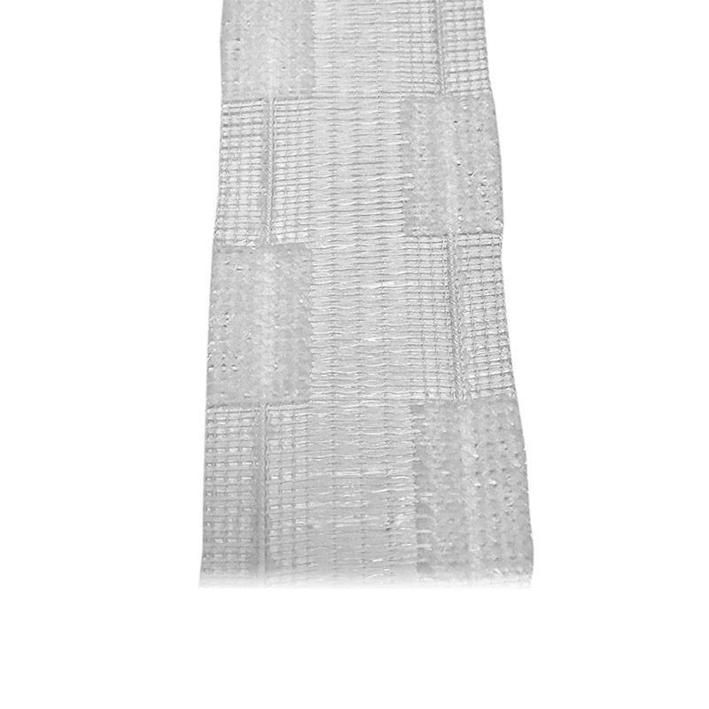 Ruban fronceur agrippant 60mm, le mètre - Habillage de la fenêtre