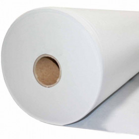 Jaconas non tissé polypropylène blanc 100 g/m², Rouleau de 250m - Fournitures tapissier