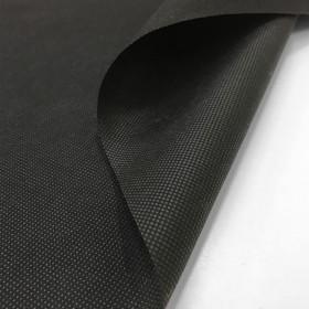 Jaconas non tissé polypropylène noir 100 g/m², le mètre - Fournitures tapissier