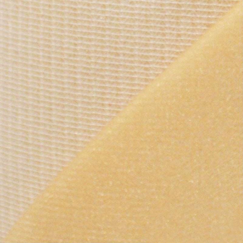 Maille grattée (toile jersey) beige - blanc en 150 cm - le mètre - Fournitures tapissier