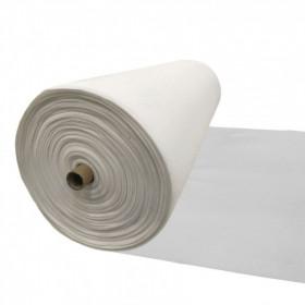 Maille grattée (toile jersey) blanc - blanc cassé en 150 cm - Le rouleau de 25m - Fournitures tapissier
