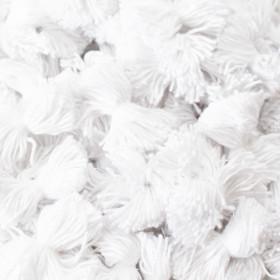 1000 Bouffettes blanches pour matelas - Fournitures tapissier