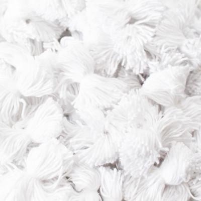 1000 Bouffettes blanches pour matelas