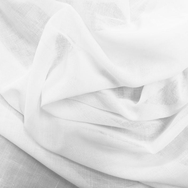 voilage tamine blanc en 300cm de haut vendu au m tre. Black Bedroom Furniture Sets. Home Design Ideas
