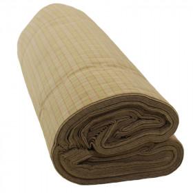 Toile à carreaux 210g en 140 cm rouleau 50 m - Fournitures tapissier