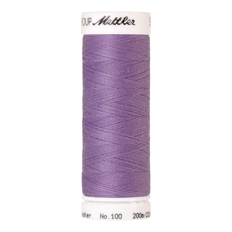Fil universel Violet Amethyste METTLER SERALON, bobine de 200 M - Mercerie