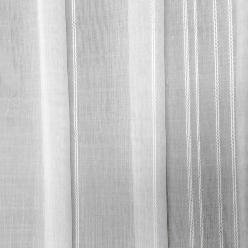 voilage tamine ray blanc en 300cm de haut vendu au. Black Bedroom Furniture Sets. Home Design Ideas