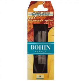 15 Aiguilles longues pour patchwork et quilting - BOHIN - Mercerie