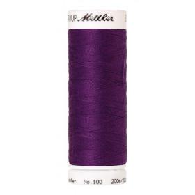 Fil universel Violet Raisin METTLER SERALON, bobine de 200 M - Mercerie