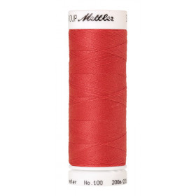 Fil universel Rose Rouge METTLER SERALON, bobine de 200 M - Mercerie