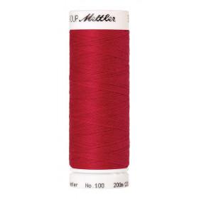 Fil universel Rouge METTLER SERALON, bobine de 200 M - Mercerie