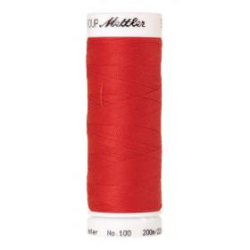 Fil universel Rouge Pomme METTLER SERALON, bobine de 200 M - Mercerie